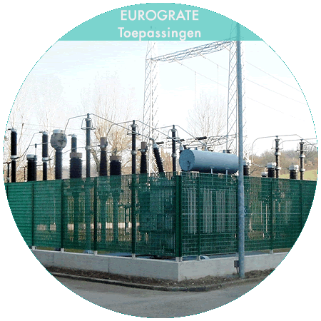 industrial fencing for the safety of power plants