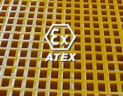 Atex anti-statische roosters