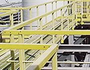 GRP safety handrails