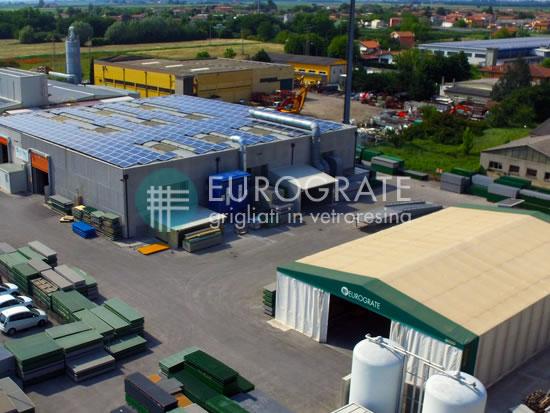 vervaardiging van industriële hekwerken met locatie in Italië