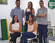 Eurograte roosters, profielen en omheiningen, kantoor in Spanje